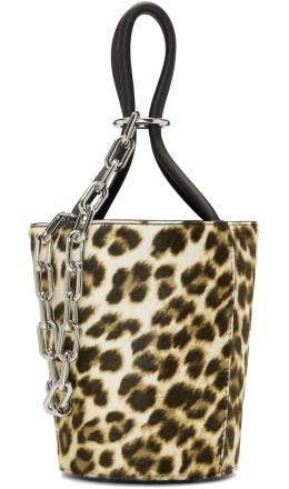 Alexander Wang - Multicolor Leopard Mini Roxy Bucket Bag