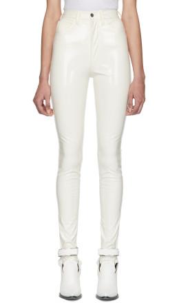 Maison Margiela - Off-White Skinny Trousers