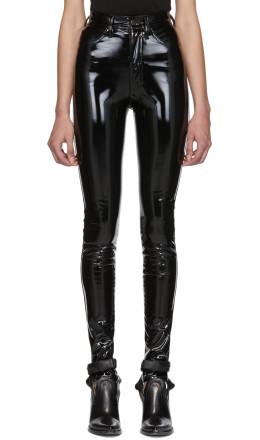 Maison Margiela - Black Skinny Trousers