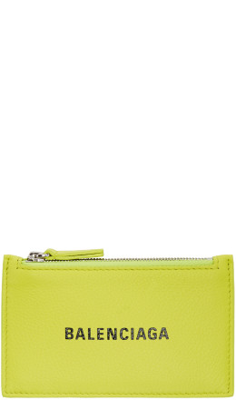 Balenciaga - Yellow Long Everyday Card Holder