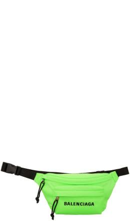 Balenciaga - Green Wheel Belt Bag