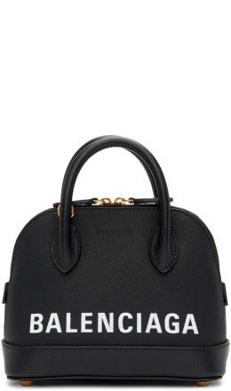 Balenciaga - Black XXS Ville Top Handle Bag