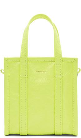 Balenciaga - Yellow XXS Bazar Shopper Tote