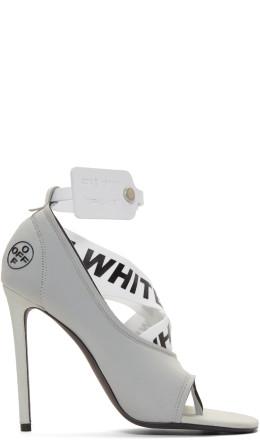 Off-White - Grey Yoga Sandals