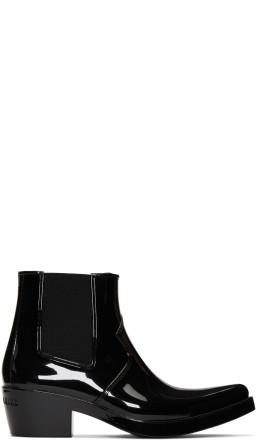 Calvin Klein 205W39NYC - Black Carol Rain Boots