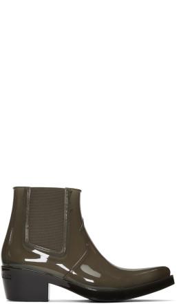 Calvin Klein 205W39NYC - Grey Carol Rain Boots