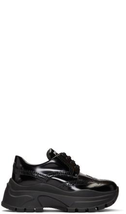 Prada - Black Shiny Derbys