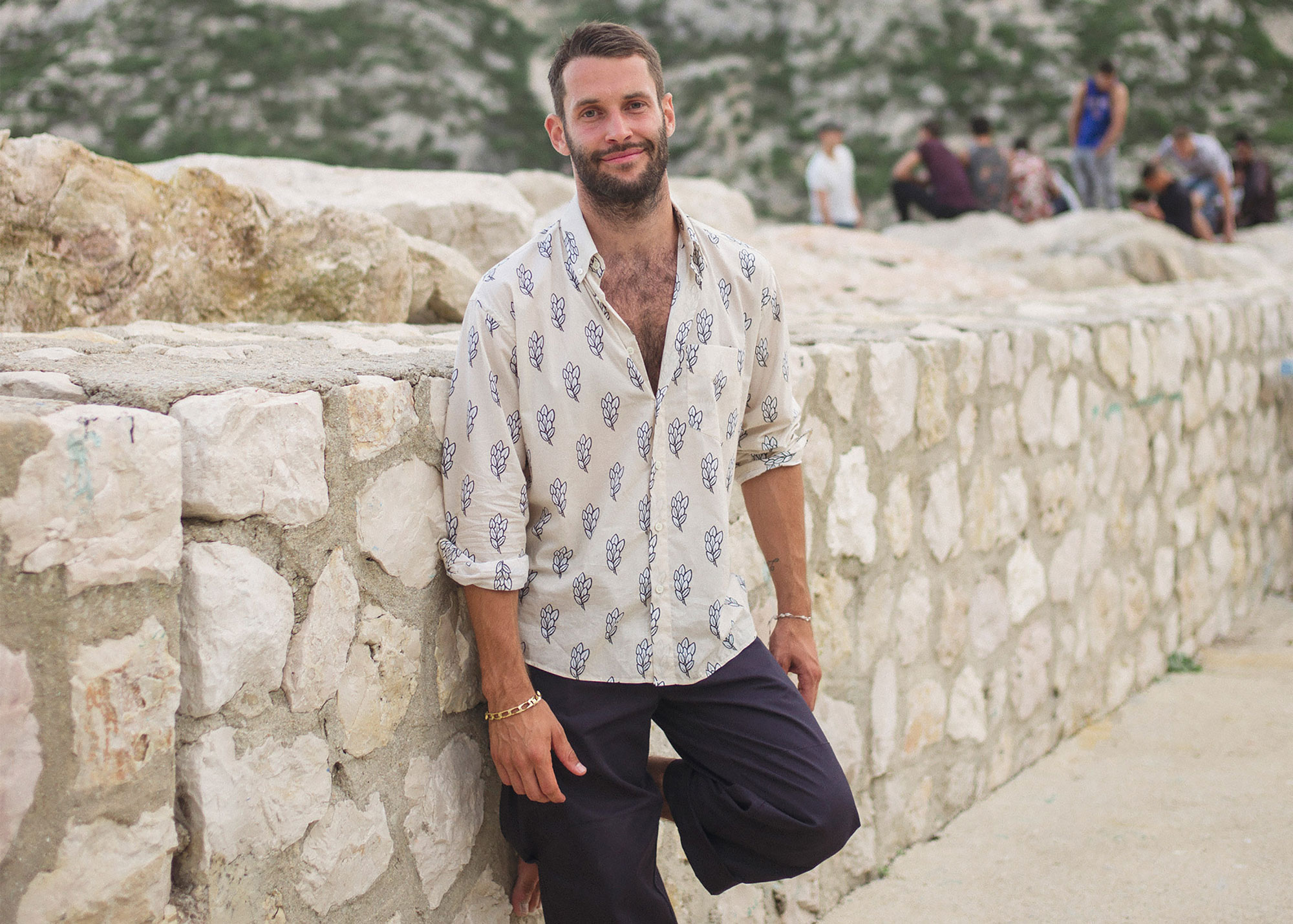 4e5e0452a14 Simon Le Gadjo   Jacquemus fait ses débuts en mode masculine ...