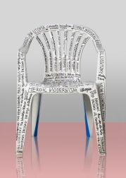 Mike Meiré, Dilettant Monoblock chair, 2014