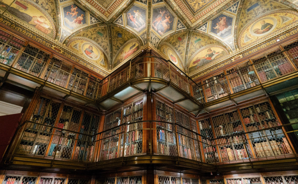 The Splendor of the Morgan Library in New York City