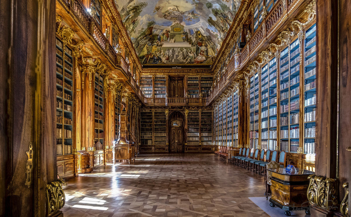 Prague's Stunning Strahov Monastery Library and Cabinet of Curiosities