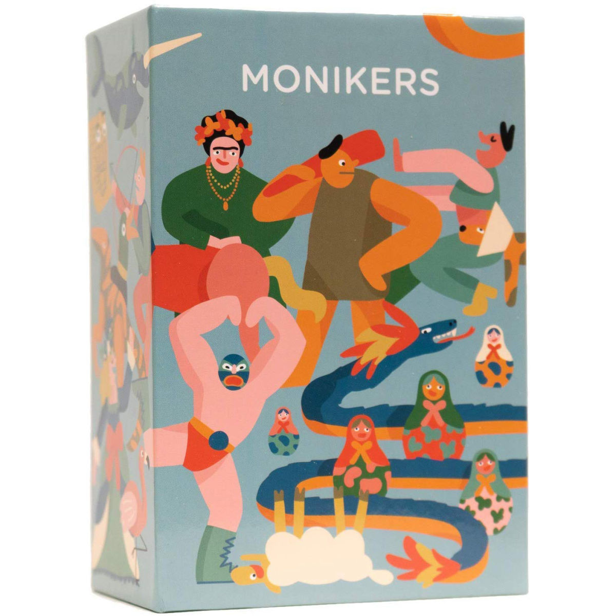 the monikers game box