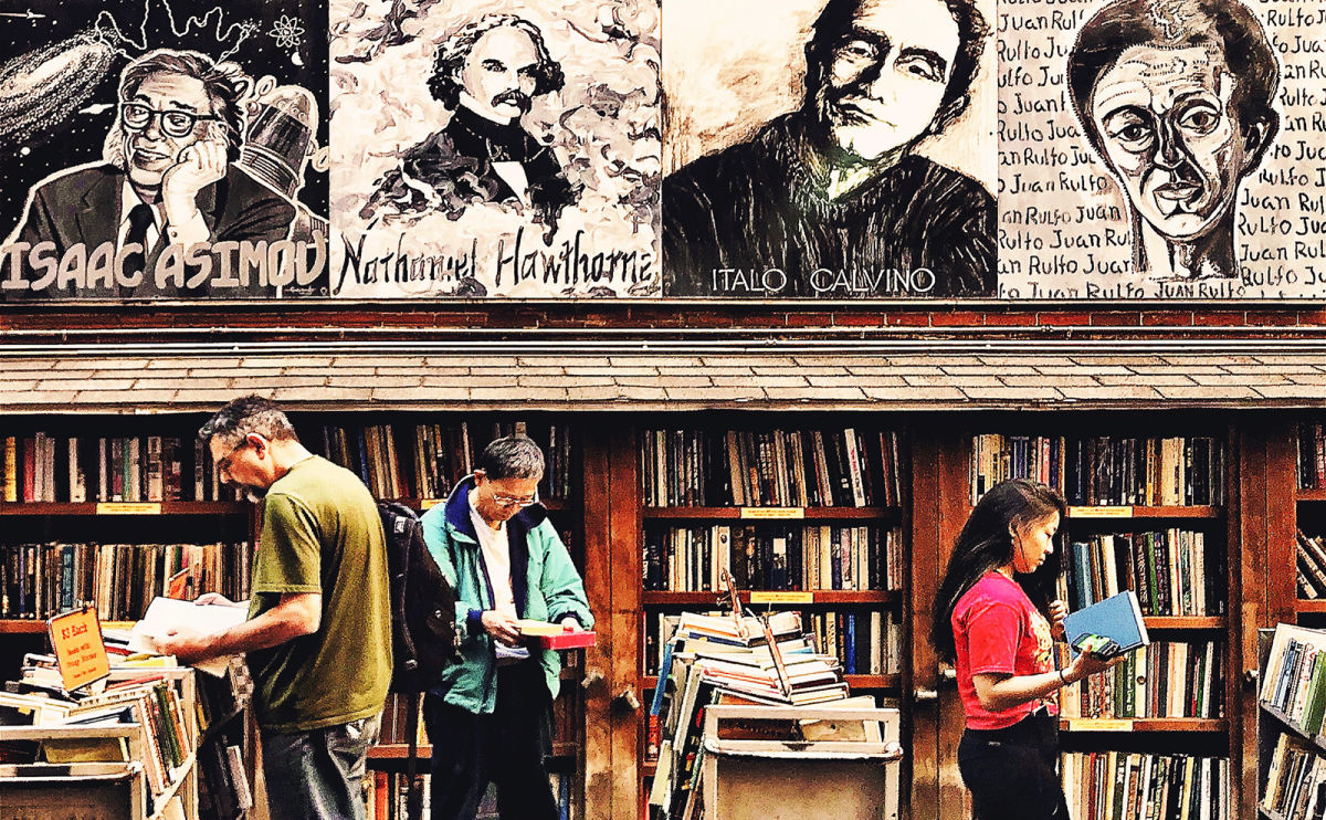 This is the Best Used Bookstore in Boston: The Brattle Book Shop