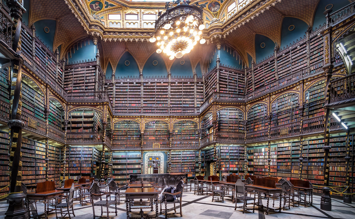 Everything You Need to Know About the Royal Portuguese Cabinet of Reading
