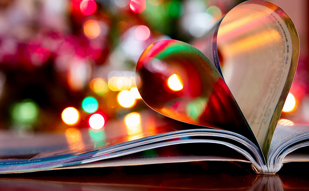 Spend Christmas Eve in Cozy Pajamas with a Box of Chocolates and a New Book with Book Flood