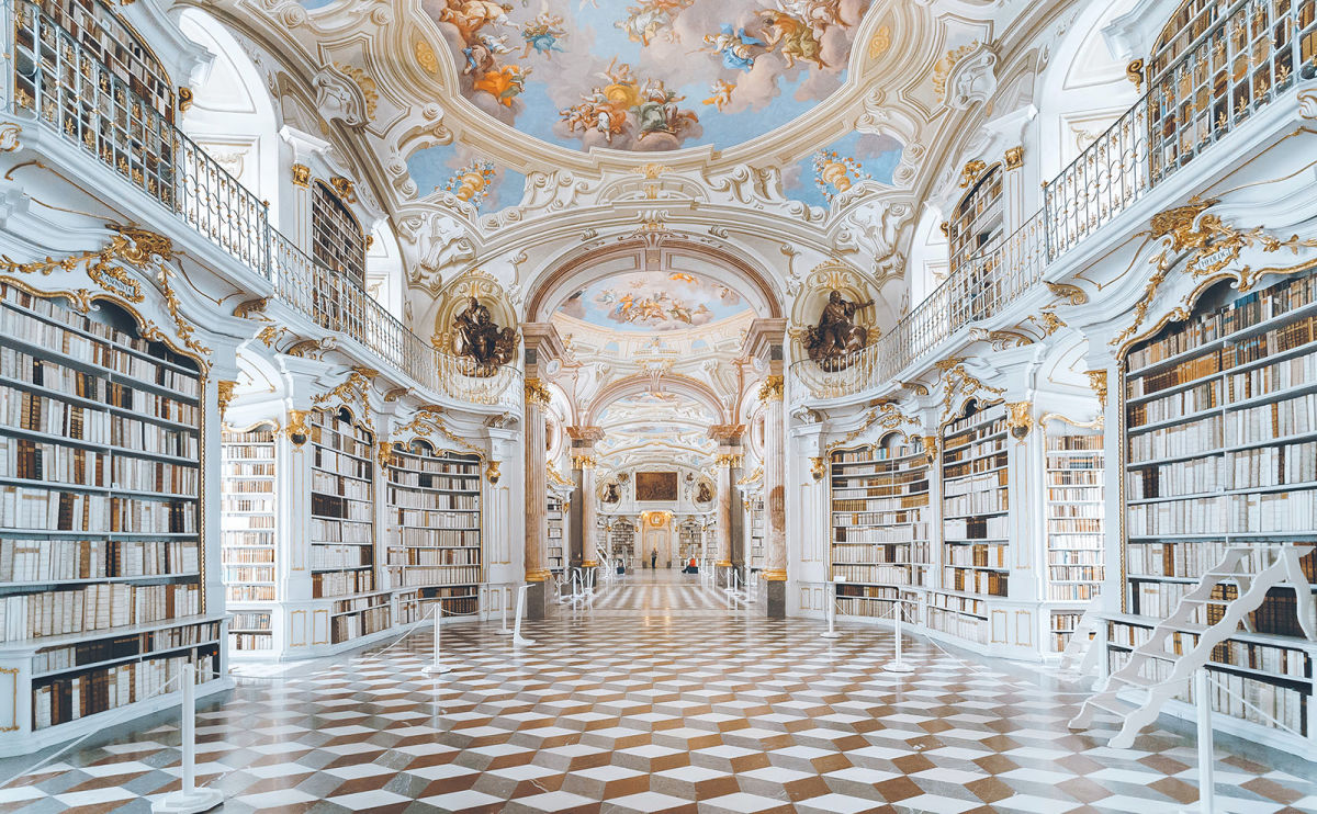 Admont Abbey Library, Locked Room Mysteries, World Cuisine & More: Endnotes 05 March