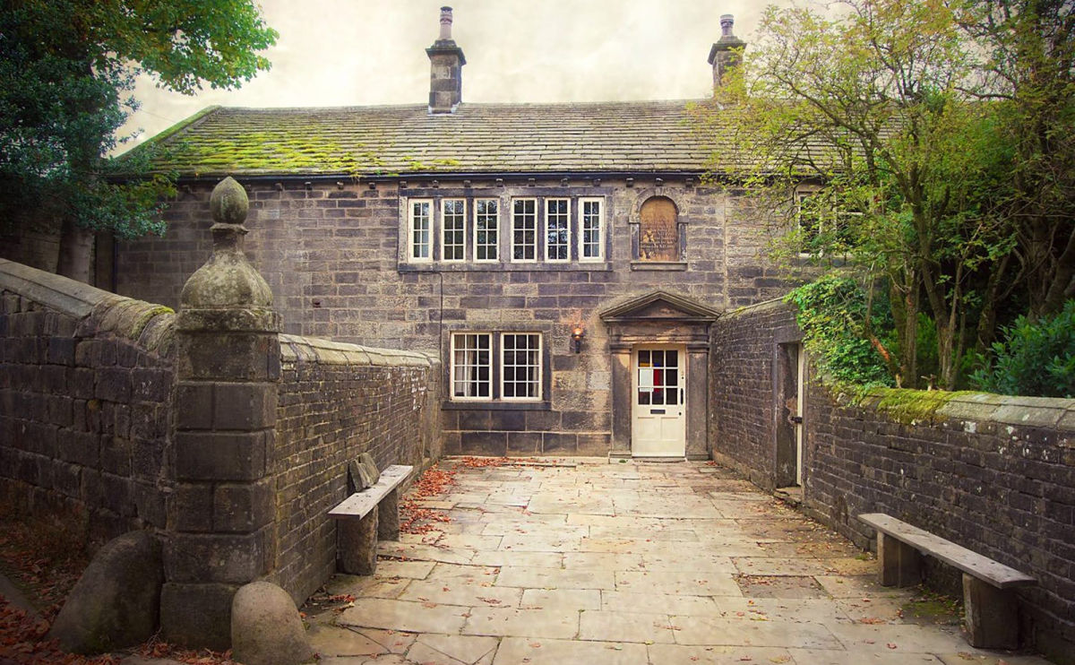 ponden hall in yorkshire, uk