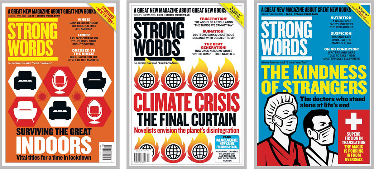 example covers of strong words magazine