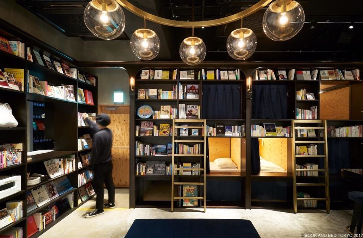 Who Needs a Love Hotel When There's a Book Hotel? Meet Book and Bed Tokyo