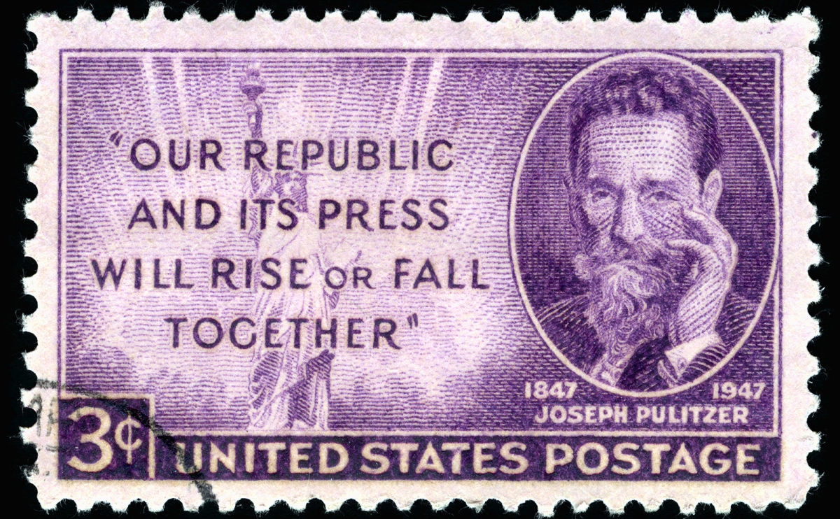 Josef Pulitzer and the Crowdfunding Campaign That Saved the Statue of Liberty