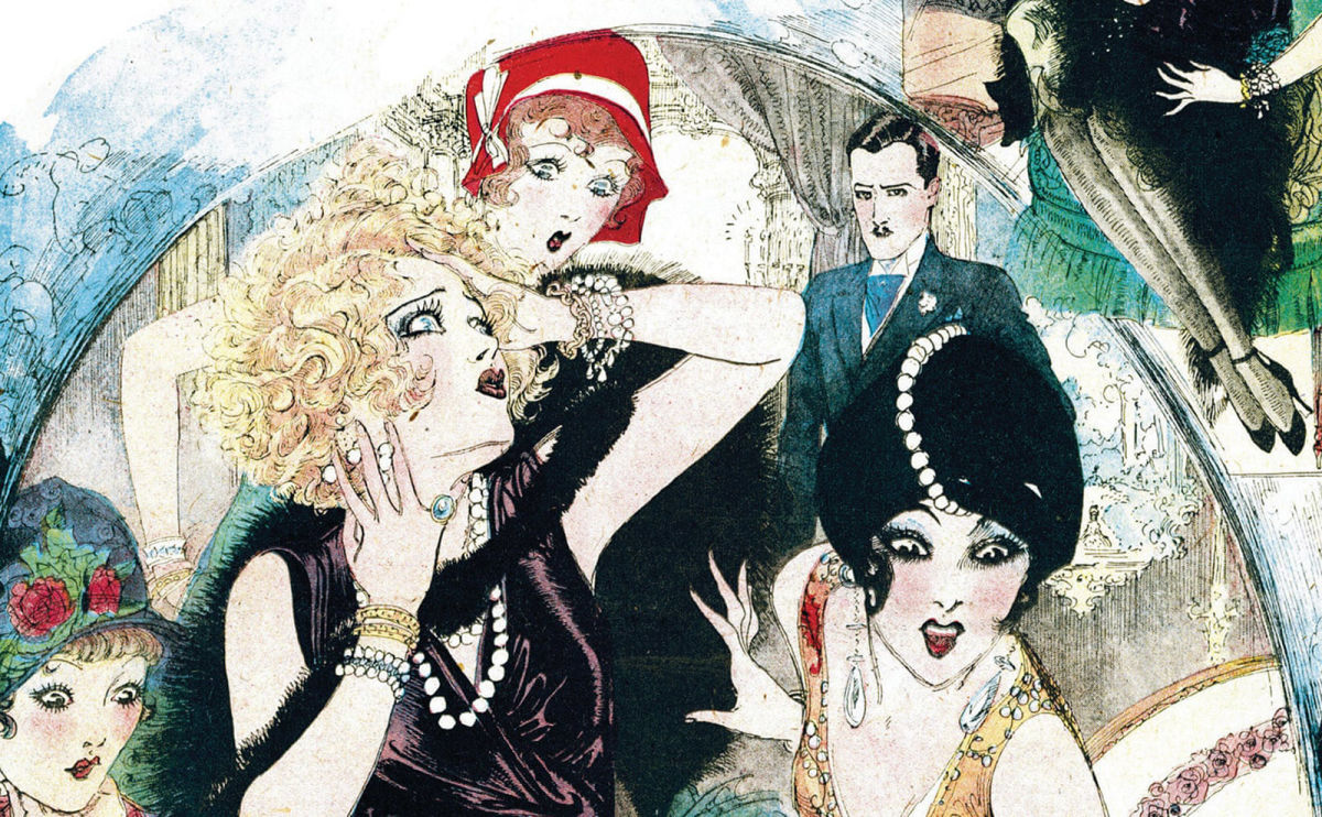 Trip the Light Fantastic in the Snazzy Jazz Age with the Comics in 'Flapper Queens'