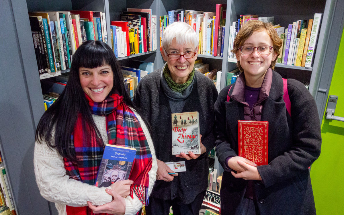 ruth andersen and tillie walden and melissa joulwan holding books