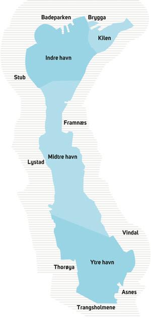 kart sandefjordsfjorden Sandefjord   Felles historie – felles fremtid! Forurensning av  kart sandefjordsfjorden