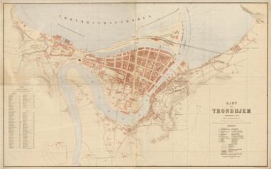 Gamle Kart Trondheim Kommune