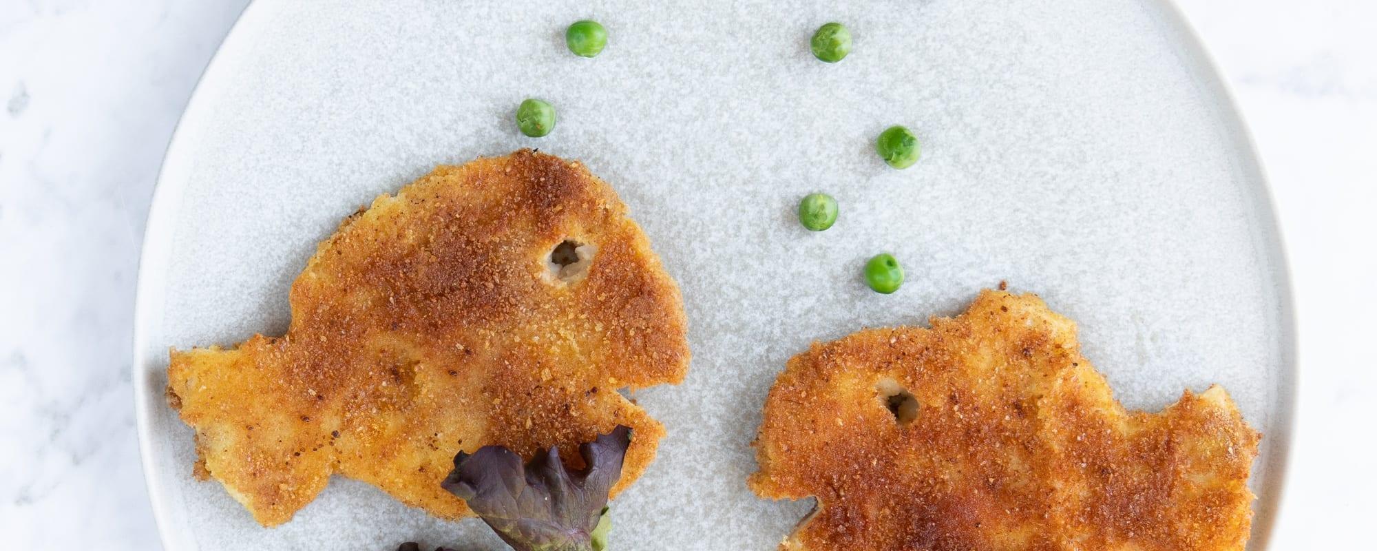 Veganske fiske-frie-fileter og remo