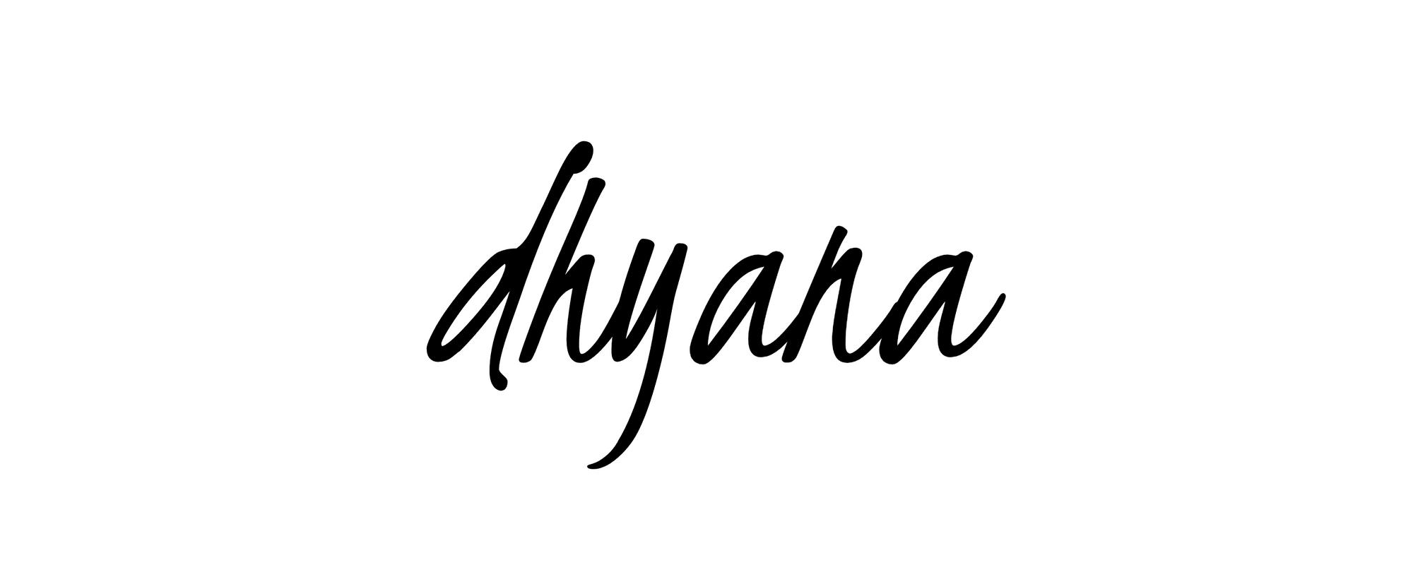 Yogaens otte trin - Dhyana