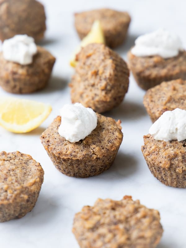 Veganske citronmuffins med birkes