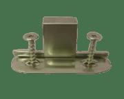 Glideklammer Rustfri m/skrue G0230S