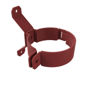 Rørklammer 7013-70mm Alu.Rød
