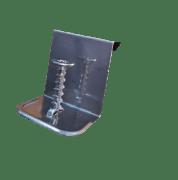 Fastklammer Rustfri m/skrue F0230S
