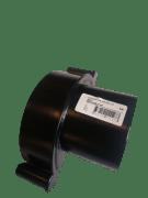 Endebunn M/Stuss 125mm   Sort
