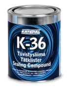 KATEPAL K-36 ASFALTLIM SVART 1 Liter