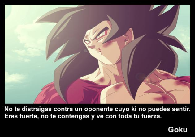 Goku | Frase Dragon