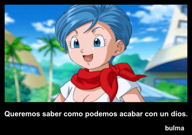 bulma | Frase Dragon Ball