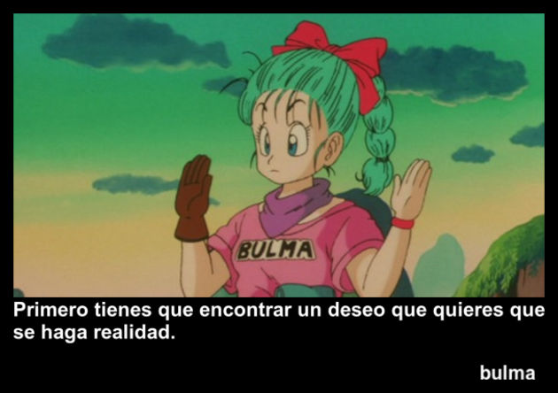 bulma | Frase Dragon Ball