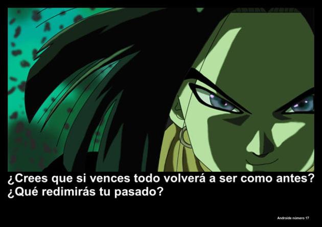 androidenumero17 | Frase Dragon Ball