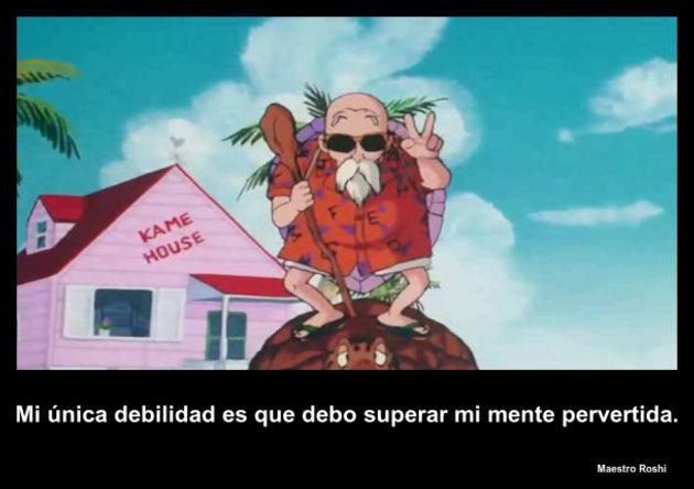 maestroroshi   Frase Dragon Ball