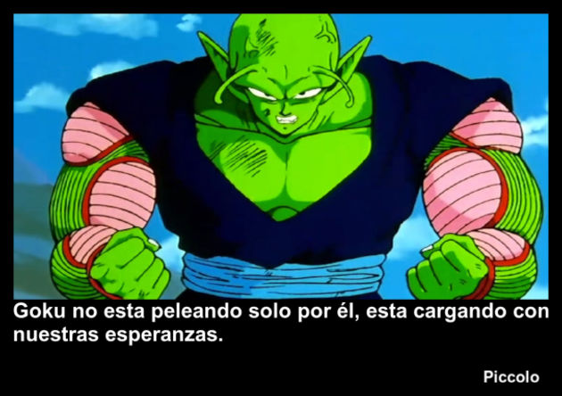 piccolo | Frase Dragon Ball