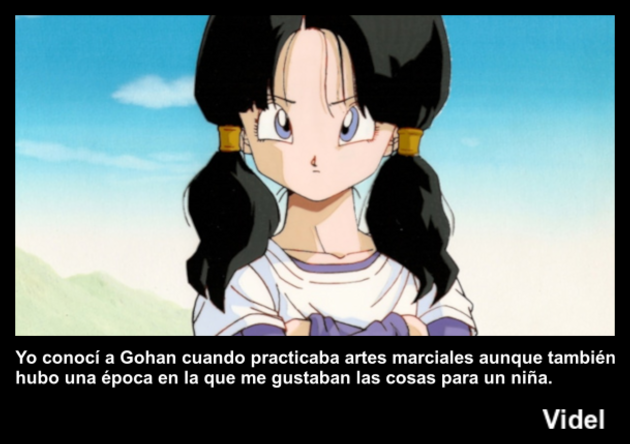 videl | Frase Dragon Ball