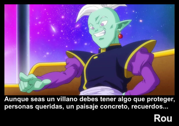 rou | Frase Dragon Ball