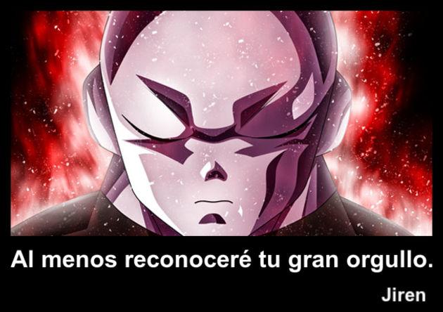 jiren   Frase Dragon Ball
