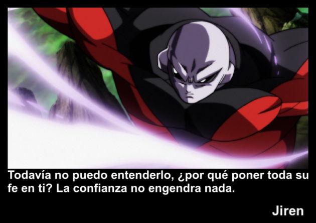 jiren | Frase Dragon Ball