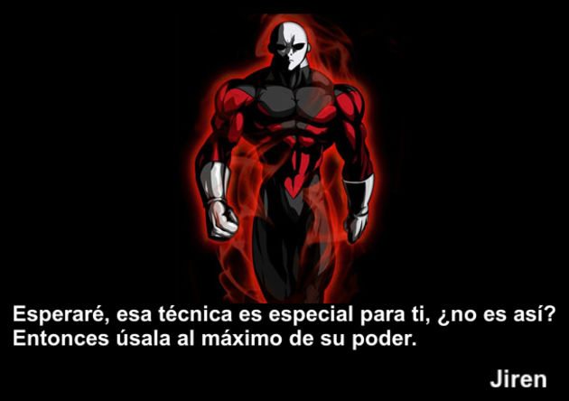 jiren | Frase Dragon Ball