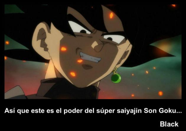 black   Frase Dragon Ball
