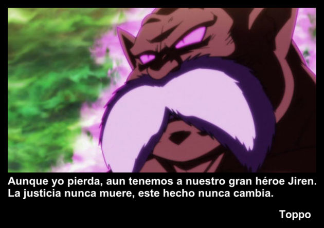 toppo | Frase Dragon Ball