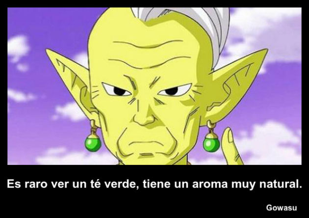 gowasu | Frase Dragon Ball